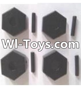 Wltoys A313 RC Car Parts-Six angle adapter(4pcs),Wltoys A313 Parts