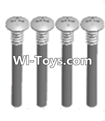 Wltoys A313 RC Car Parts-upper half tooth screws Parts(M3X36 PMO)-4PCS,Wltoys A313 Parts