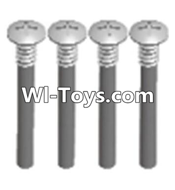 Wltoys A313 RC Car Parts-Cross recessed round head upper teeth Srews(M3X30 PM D5.5)-4PCS,Wltoys A313 Parts