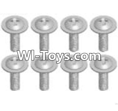 Wltoys A313 RC Car Parts-Cross recessed round head screws Parts(M2.6X6 PWB)-8pcs,Wltoys A313 Parts