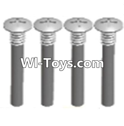 Wltoys A313 RC Car Parts-Half tooth cross head screws Parts(M2.5X15)-4PCS,Wltoys A313 Parts