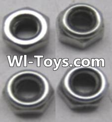 Wltoys A313 RC Car Parts-L959-65 Locknut set(4pcs),Wltoys A313 Parts
