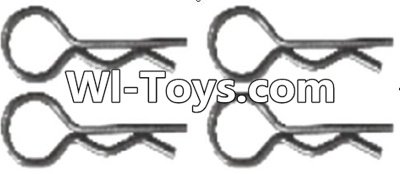 Wltoys A313 RC Car Parts-Pin,R-shape Pin Parts-1X22.2MM(4pcs)-K939-49,Wltoys A313 Parts