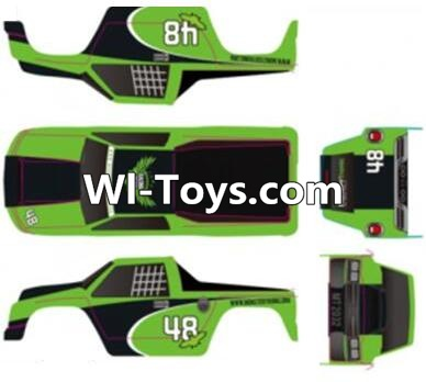 Wltoys A323 RC Car Parts-Body shell cover Parts-Blue,Wltoys A323 Parts