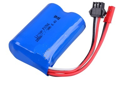Wltoys A323 RC Car Battery Parts-6.4V 750MAH 15C BATTERY with JST Plug(53X37X19MM)-1pcs,Wltoys A323 Parts