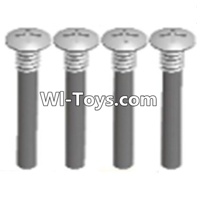 Wltoys A323 RC Car Parts-Half tooth cross head screws Parts(M2.5X15)-4PCS,Wltoys A323 Parts