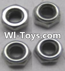 Wltoys A323 RC Car Parts-L959-65 Locknut set(4pcs),Wltoys A323 Parts