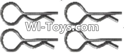 Wltoys A323 RC Car Parts-Pin,R-shape Pin Parts-1X22.2MM(4pcs)-K939-49,Wltoys A323 Parts