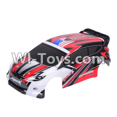 Wltoys A949 RC Car Body Shell Cover Parts,Car canopy,Shell cover-Red
