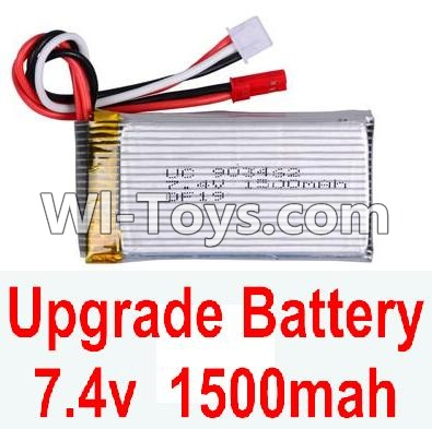 Wltoys A949 Upgrade Parts-Upgrade Battery Parts,Upgrade 7.4V 1500mah battery