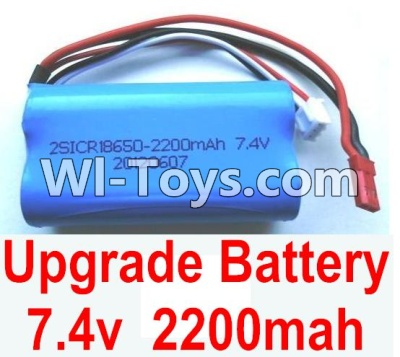 Wltoys A949 Upgrade Parts-Upgrade Battery Parts-Upgrade 7.4v 2200mah battery