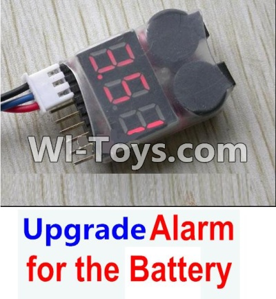 Wltoys A949 Upgrade Parts-Upgrade Alarm for the Battery,Can test whether your battery has enouth power