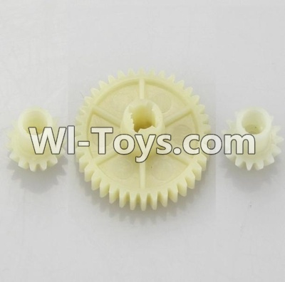 Wltoys A949 RC Car Parts-Reduction gear with 2 small gear Parts-Official