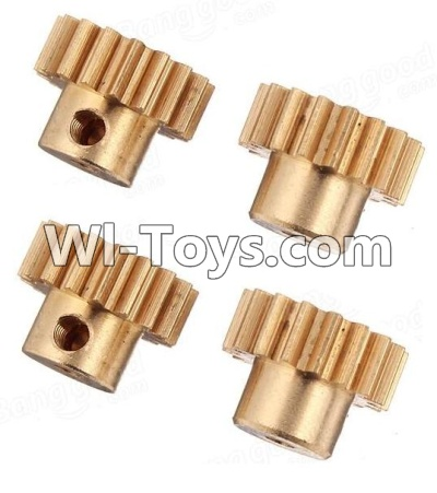 Wltoys A949 RC Car Parts-Copper motor Gear(4pcs)-0.7 Modulus,Wltoys A949 Parts