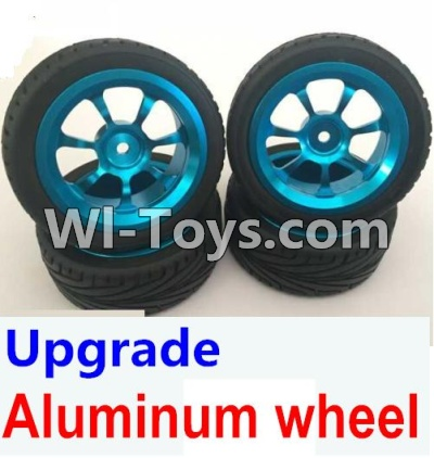 Wltoys A949 Upgrade Parts-Upgrade Aluminum wheel(4pcs-Include the Tire leather)