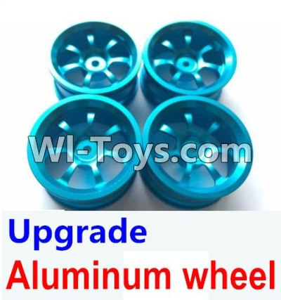 Wltoys A949 Upgrade Parts-Upgrade Aluminum wheel(4pcs-Not include the Tire leather)