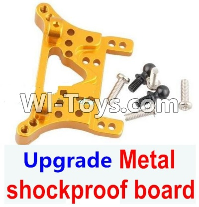 Wltoys A949 Upgrade Parts-Upgrade Metal shockproof board-Gold,Wltoys A949 Parts