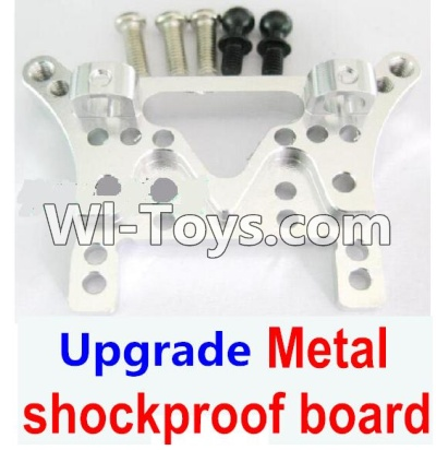 Wltoys A949 Upgrade Parts-Upgrade Metal shockproof board-Silver,Wltoys A949 Parts
