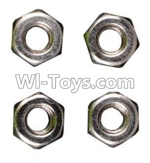 Wltoys A949 RC Car Parts-M3 Anti-loose Screw Parts-nut Parts-4pcs,Wltoys A949 Parts