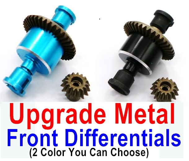 Wltoys A979 A979-B Upgrade Metal Front Differentials-(Both for A979 A979-B)