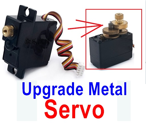 Wltoys A979 A979-B Upgrade Metal Servo-(Both for A979 A979-B)