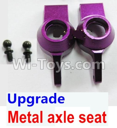 Wltoys A959B A959-B Car Upgrade Parts-Upgrade Metal axle seat-Purple,Wltoys A959B A959-B Parts