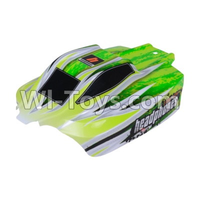 Wltoys A959B A959-B Car Parts-Body shell-Body Shell Cover Parts,Car Canopy,Shell cover-Green,Wltoys A959B A959-B Parts