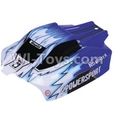 Wltoys A959B A959-B Car Parts-Body shell-Body Shell Cover Parts,Car Canopy,Shell cover-Blue,Wltoys A959B A959-B Parts
