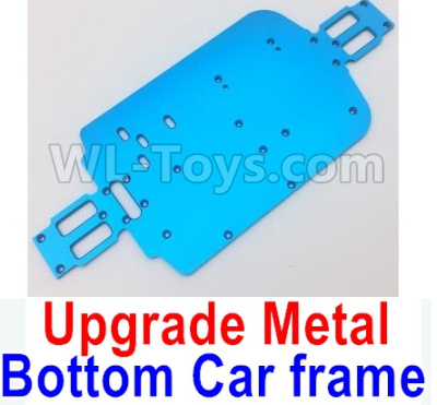 Wltoys A959B A959-B RC Car Upgrade Metal Bottom Car frame,Upgrade Metal Baseboard-Blue,Wltoys A959B A959-B Parts