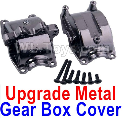 Wltoys A959B A959-B RC Car Upgrade Metal Gear box cover,Wltoys A959B A959-B Parts