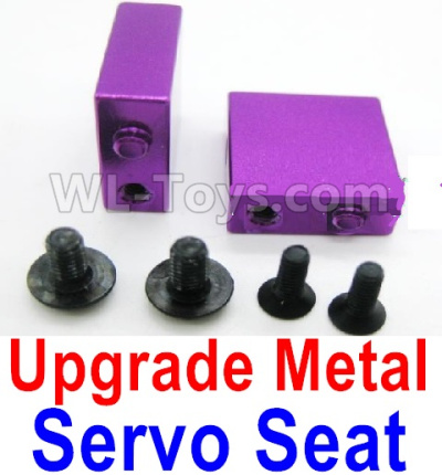 Wltoys A959B A959-B RC Car Upgrade Metal Servo Seat Parts-Purple,Wltoys A959B A959-B Parts