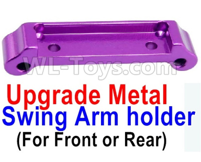 Wltoys A959B A959-B RC Car Upgrade Metal Swing Arm holder(For Front or Rear)-Purple,Wltoys A959B A959-B Parts
