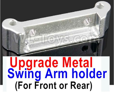 Wltoys A959B A959-B RC Car Upgrade Metal Swing Arm holder(For Front or Rear)-Silver,Wltoys A959B A959-B Parts