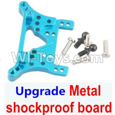 Wltoys A959B A959-B Car Upgrade Parts-Upgrade Metal Front or Rear shockproof board-Blue,Wltoys A959B A959-B Parts