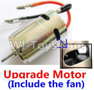 Wltoys A959B A959-B Car Upgrade Parts-Upgrade Brushless motor(Include the Fan,can strengthen the cooling function),Wltoys A959B A959-B Parts