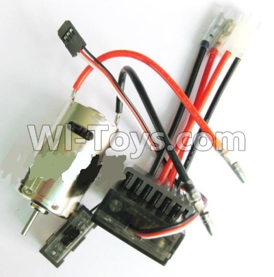 Wltoys A959B A959-B Car Upgrade Parts-Upgrade 390 Brush motor & Upgrade Brush Motor ESC,Wltoys A959B A959-B Parts