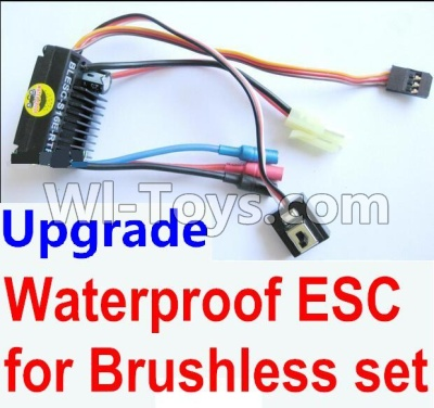 Wltoys A959B A959-B Car Upgrade Parts-Upgrade waterproof ESC for the Brushless set,Wltoys A959B A959-B Parts