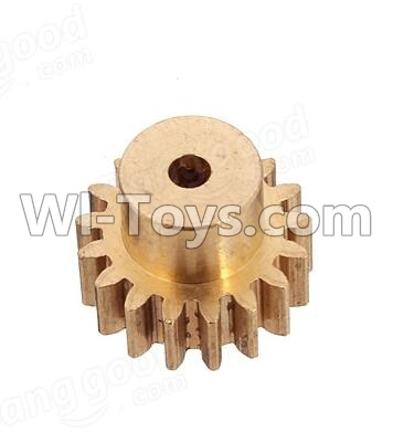 Wltoys A959B A959-B Car Parts-Copper motor Gear(1pcs)-0.7 Modulus-27 Teeth,Wltoys A959B A959-B Parts