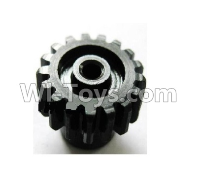 Wltoys A959B A959-B Car Upgrade Parts-Upgrade Steel motor Gear(1pcs)-0.7 Modulus-Black-27 Teeth,Wltoys A959B A959-B Parts