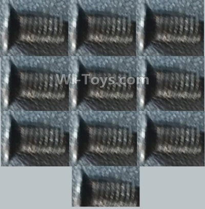 Wltoys A959B A959-B Car Parts-Screws-Countersunk head inner hexagon Machine Screw-M3X8(10PCS),Wltoys A959B A959-B Parts