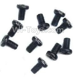 Wltoys A959B A959-B Car Parts-Countersunk head-M2X6(10PCS),Wltoys A959B A959-B Parts