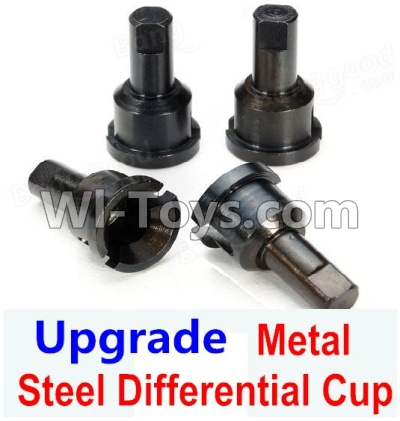Wltoys A959B A959-B Car Upgrade Parts-Upgrade Metal Differential Cup,Wltoys A959B A959-B Parts