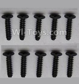 Wltoys A959-B-26 screws Parts-Round head screws-M2.5X10(10PCS),Wltoys A959B A959-B Parts