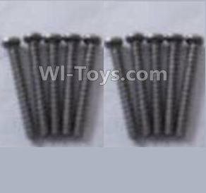 Wltoys A959B A959-B- Round head self-tapping screws-M2X16(10PCS)-A949-41,Wltoys A959B A959-B Parts