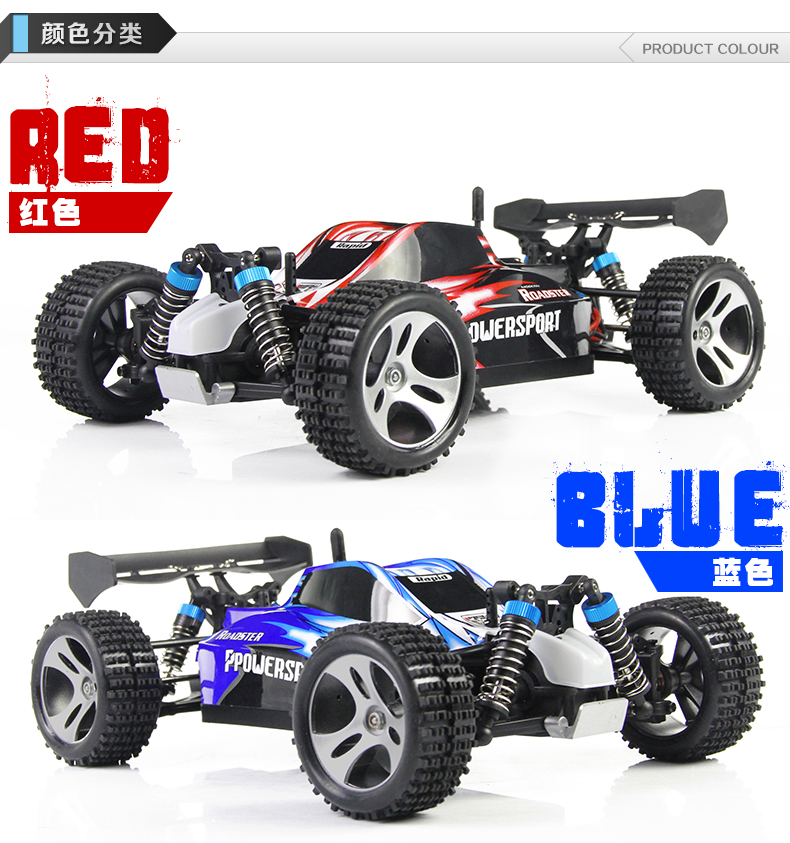 Wltoys A959 RC Car RC Truck,1/18 Wltoys A959 RC Car Parts-High speed 1:18 Full-scale rc racing car