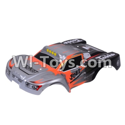 Wltoys A969 RC Car Body Shell Cover Parts,Car canopy,Shell cover-Gray,Wltoys A969 Parts
