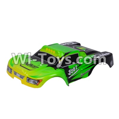 Wltoys A969 RC Car Body Shell Cover Parts,Car canopy,Shell cover-Green,Wltoys A969 Parts