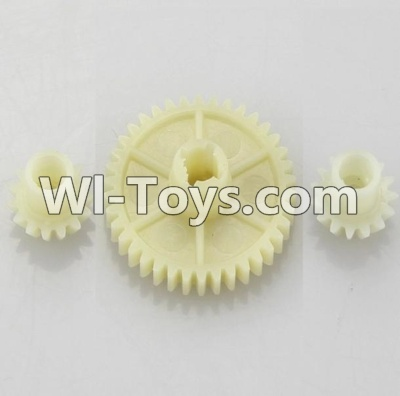 Wltoys A969 RC Car Parts-Reduction gear with 2 small gear,Wltoys A969 Parts