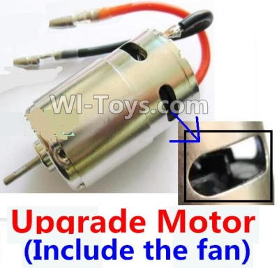Wltoys A969 Upgrade Parts-Upgrade Brush motor(Include the Fan,can strengthen the cooling function),Wltoys A969 Parts