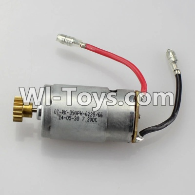Wltoys A969 RC Car Parts-Motor Parts,Official Main brush motor with copper gear